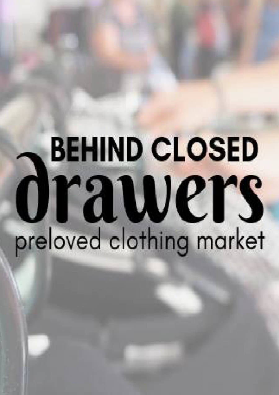 Behind Closed Drawers - Preloved Clothing Market at The Salvation Army Launceston