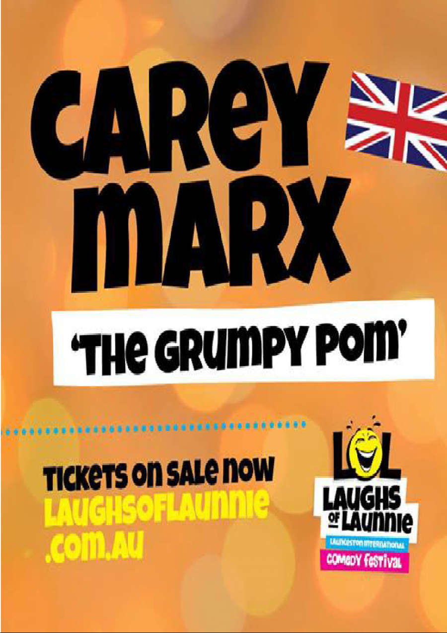 Carey Marx - 'The Grumpy Pom' at The Cock 'n' Bull