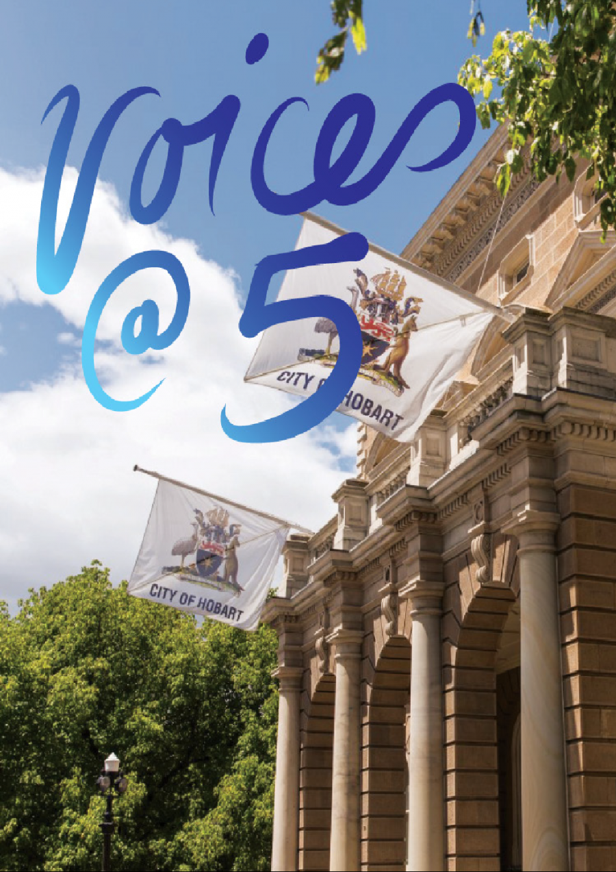 VOICES @ 5 at Hobart Town Hall
