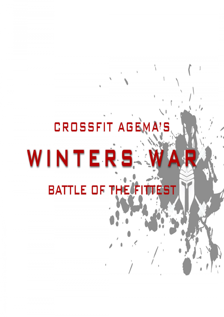 CrossFit Agema's Winters War - Individual Comp at CrossFit Agema