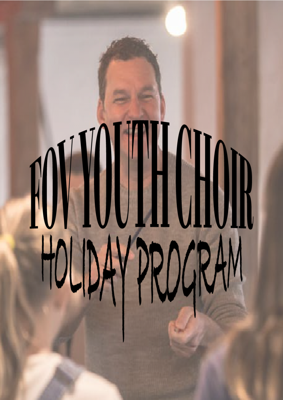 FOV YOUTH CHOIR – HOLIDAY PROGRAM at Hobart