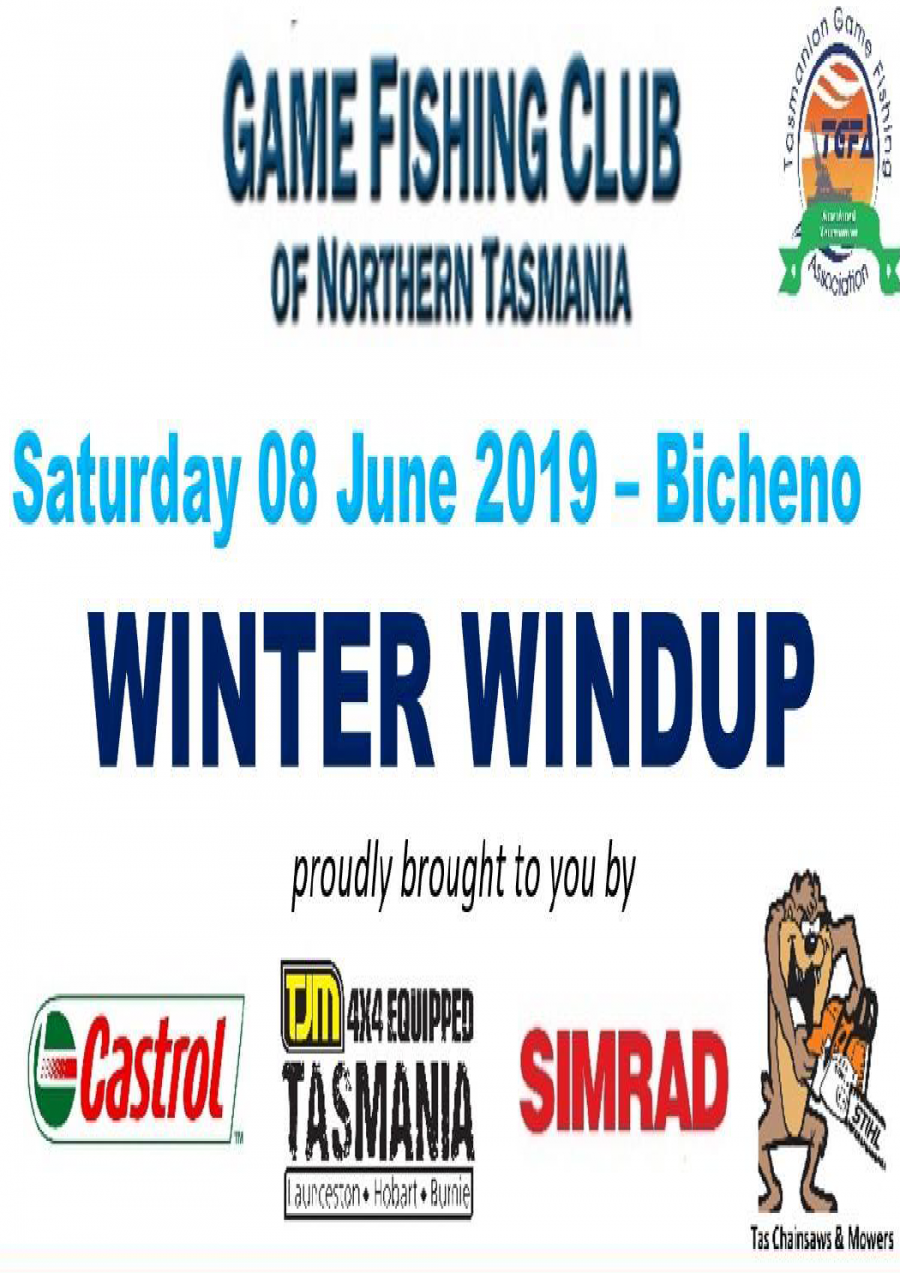GFCNT Winter Windup at Bicheno