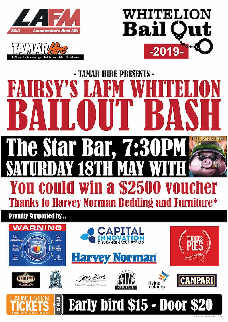 Fairsy's LAFM Whitelion Bailout Bash at Star Bar Cafe & Hotel