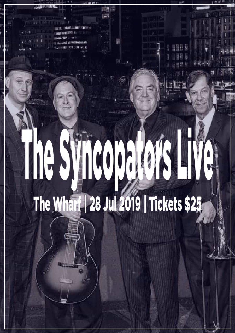 The Syncopators Live at The Wharf Ulverstone