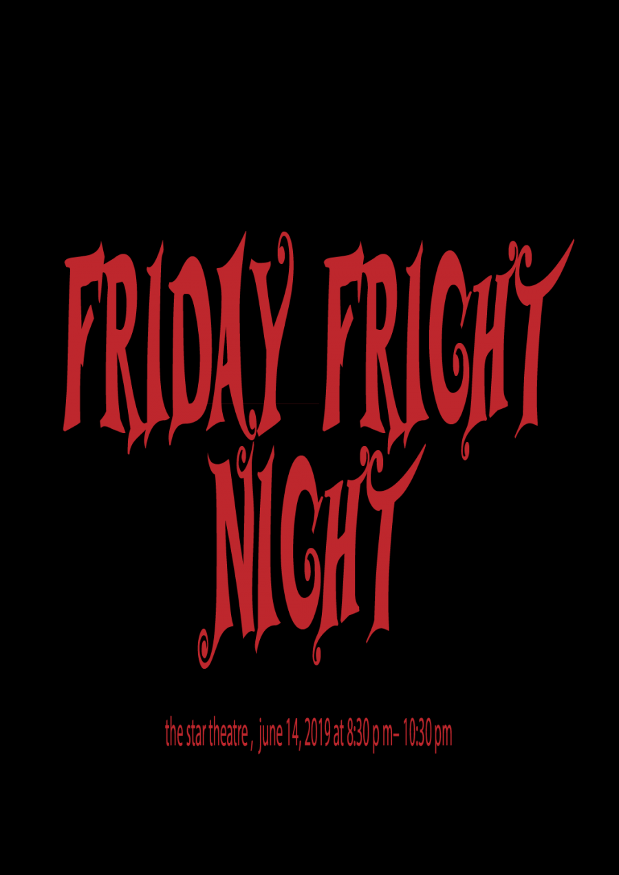 Friday fright night at star theatre at The Star Theatre, Launceston