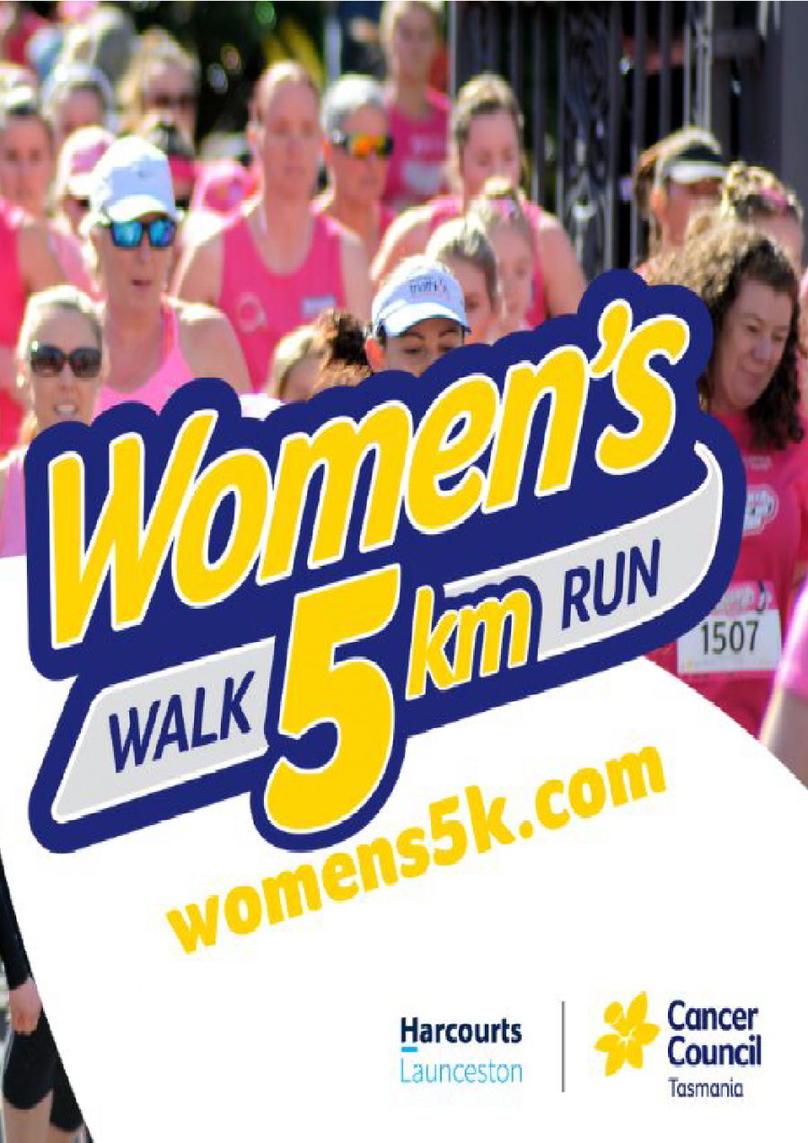 Women's 5km Walk/Run 2019 at City Park, Launceston