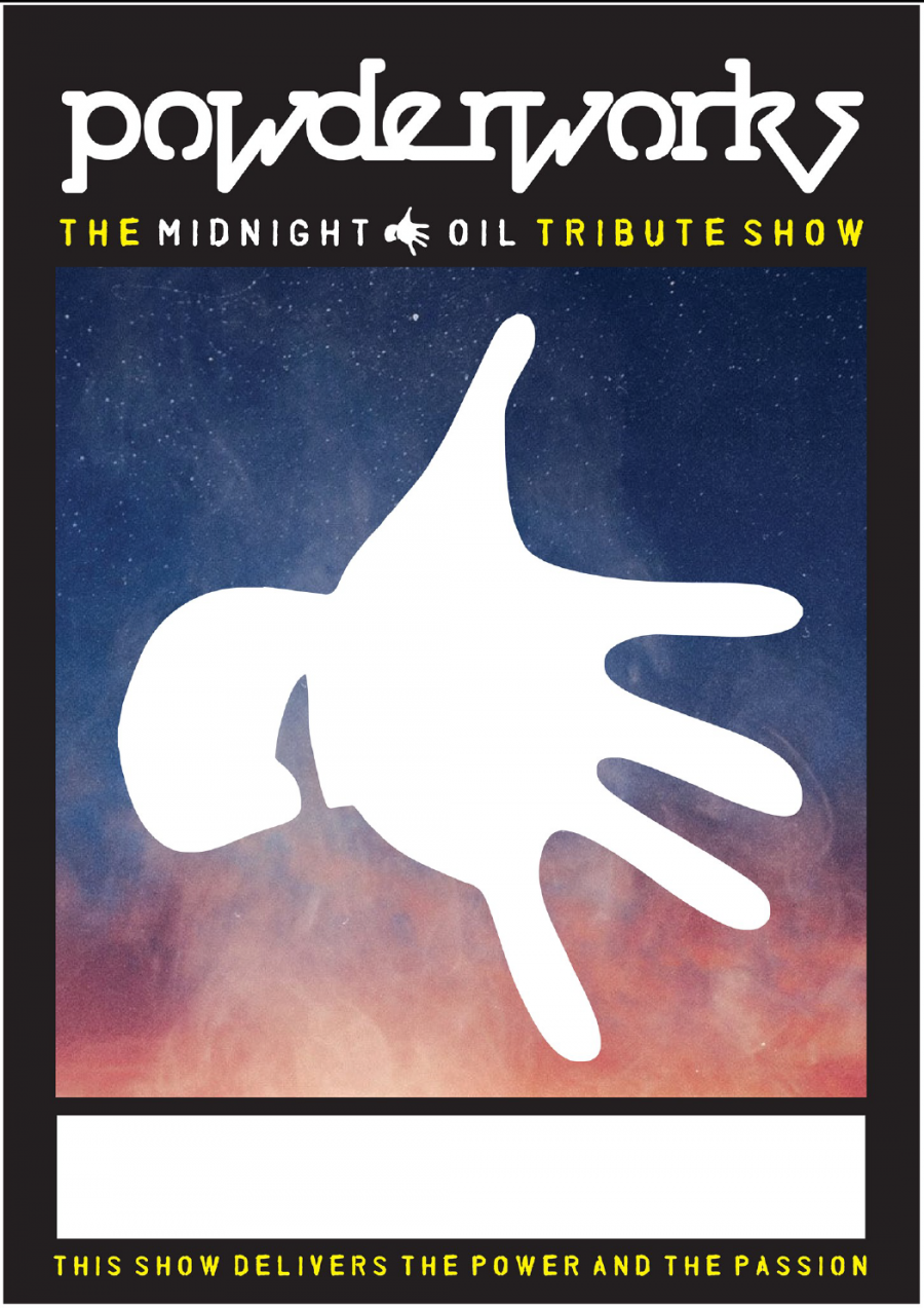 Powderworks - Midnight Oil Tribute Show at The Brisbane Hotel