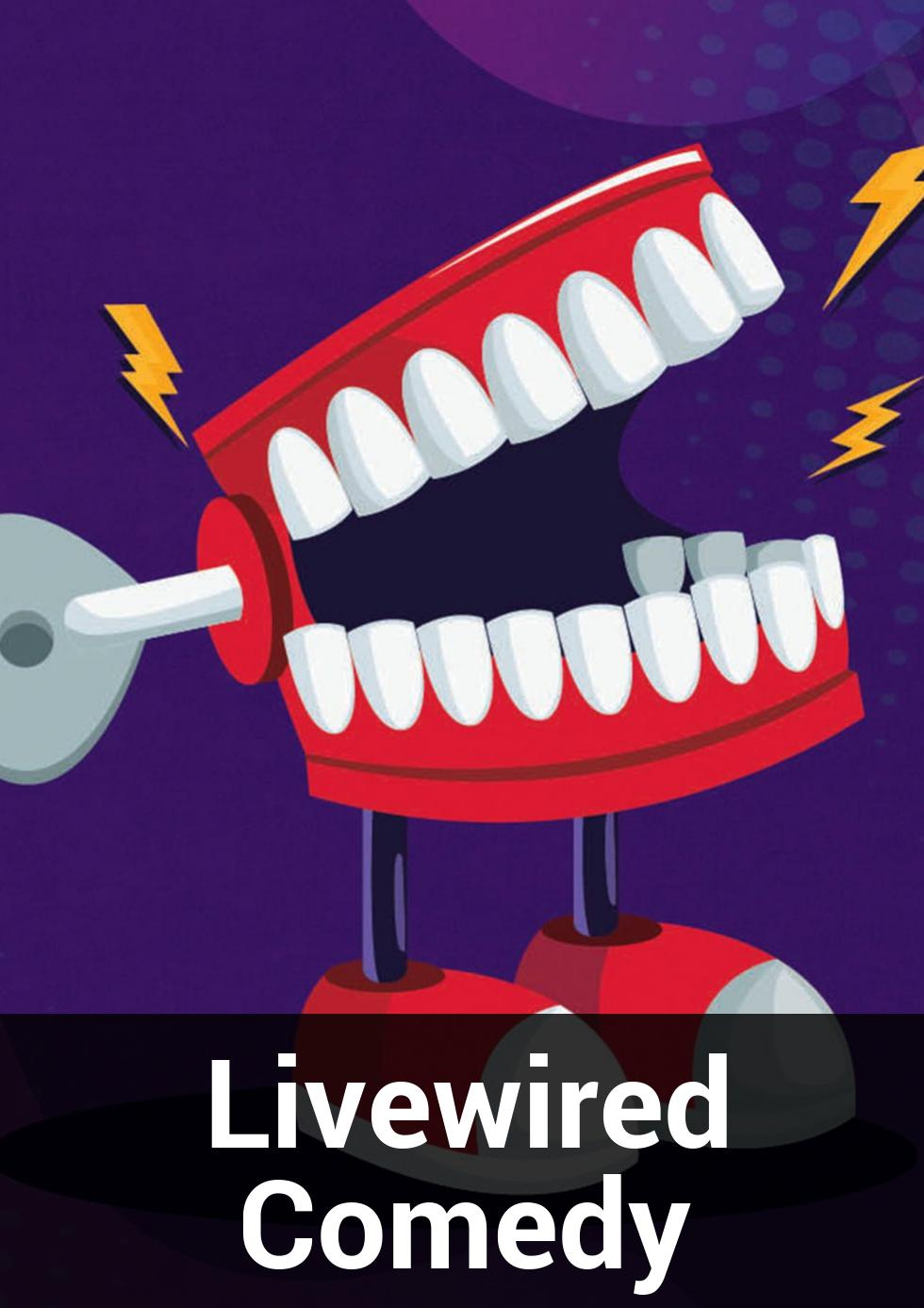 Livewired Comedy at Brisbane Powerhouse