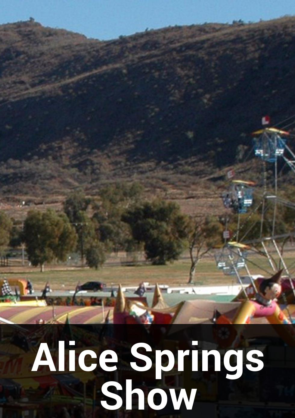 Alice Springs Show at Len Kittle Drive