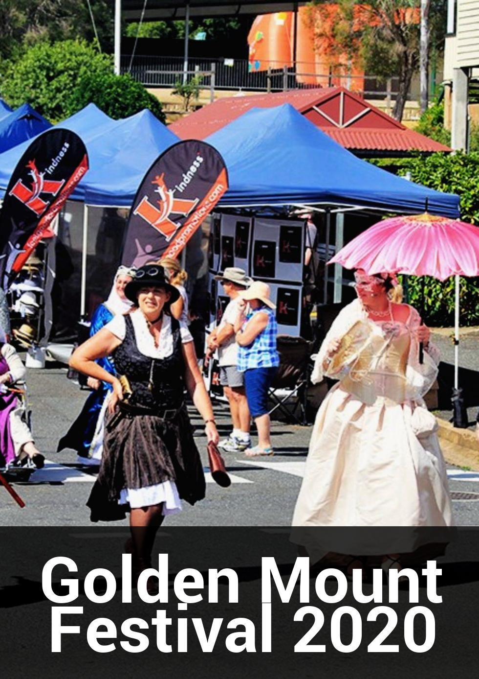Golden Mount Festival 2020 at Mount Morgan Township