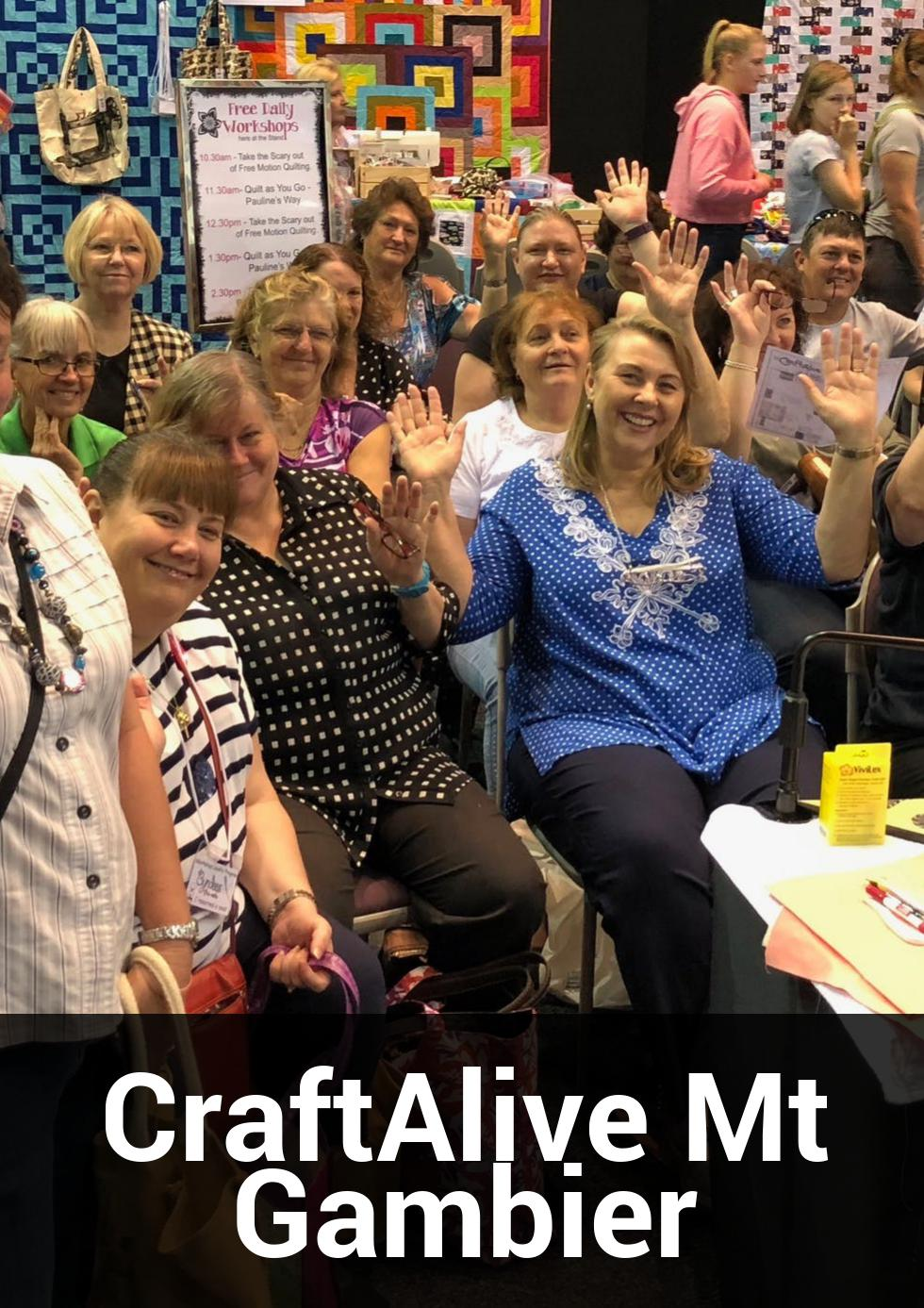 CraftAlive Mt Gambier at Mount Gambier Showgrounds