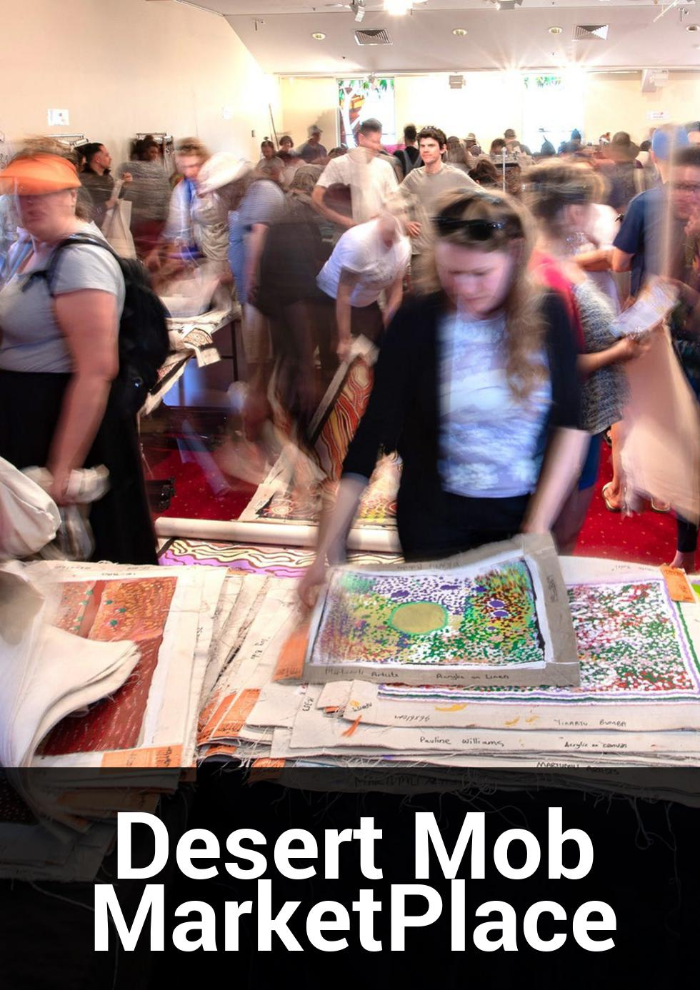 Desert Mob MarketPlace at Araluen Cultural Precinct