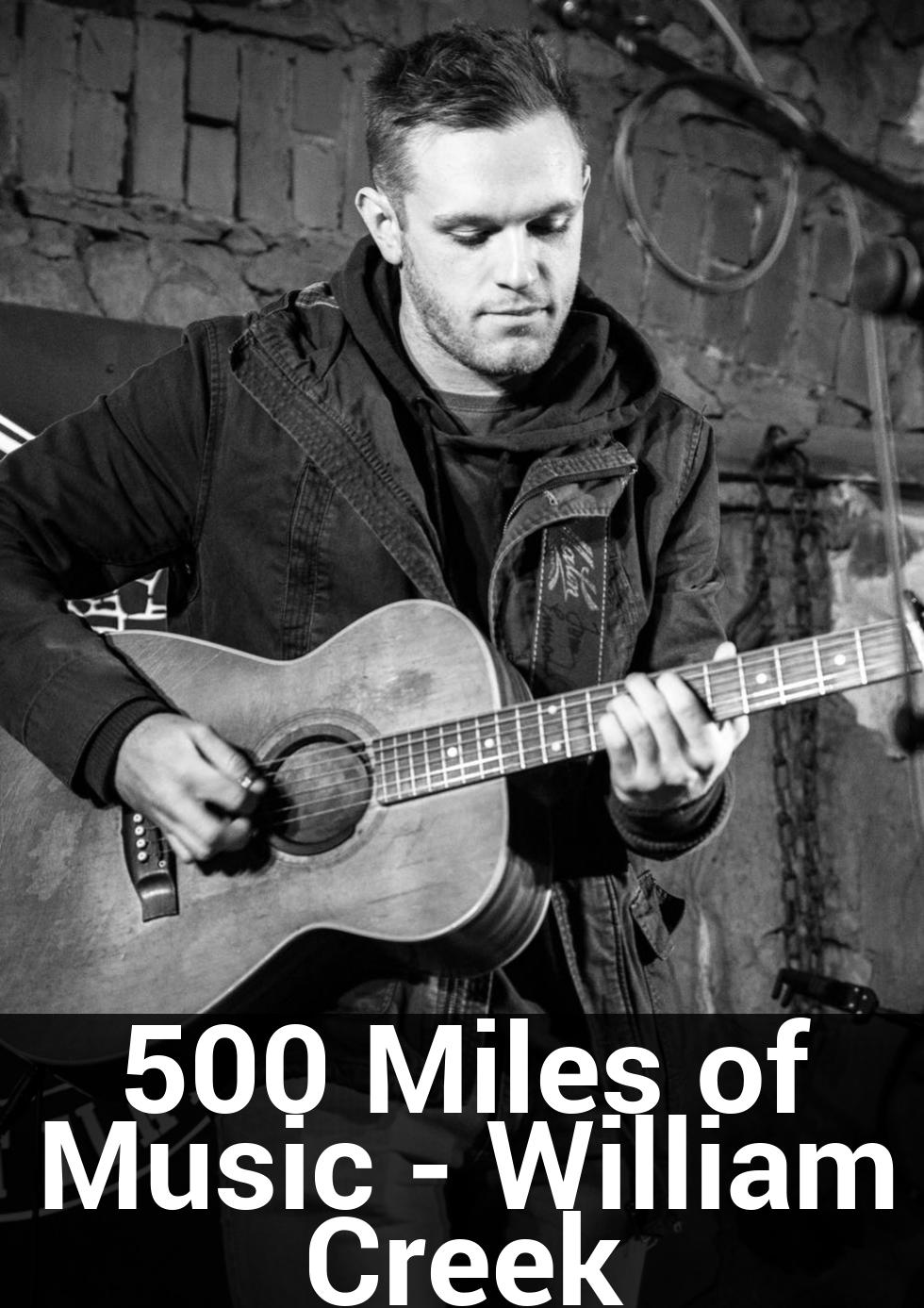 500 Miles of Music - William Creek at William Creek Gymkhana Shed