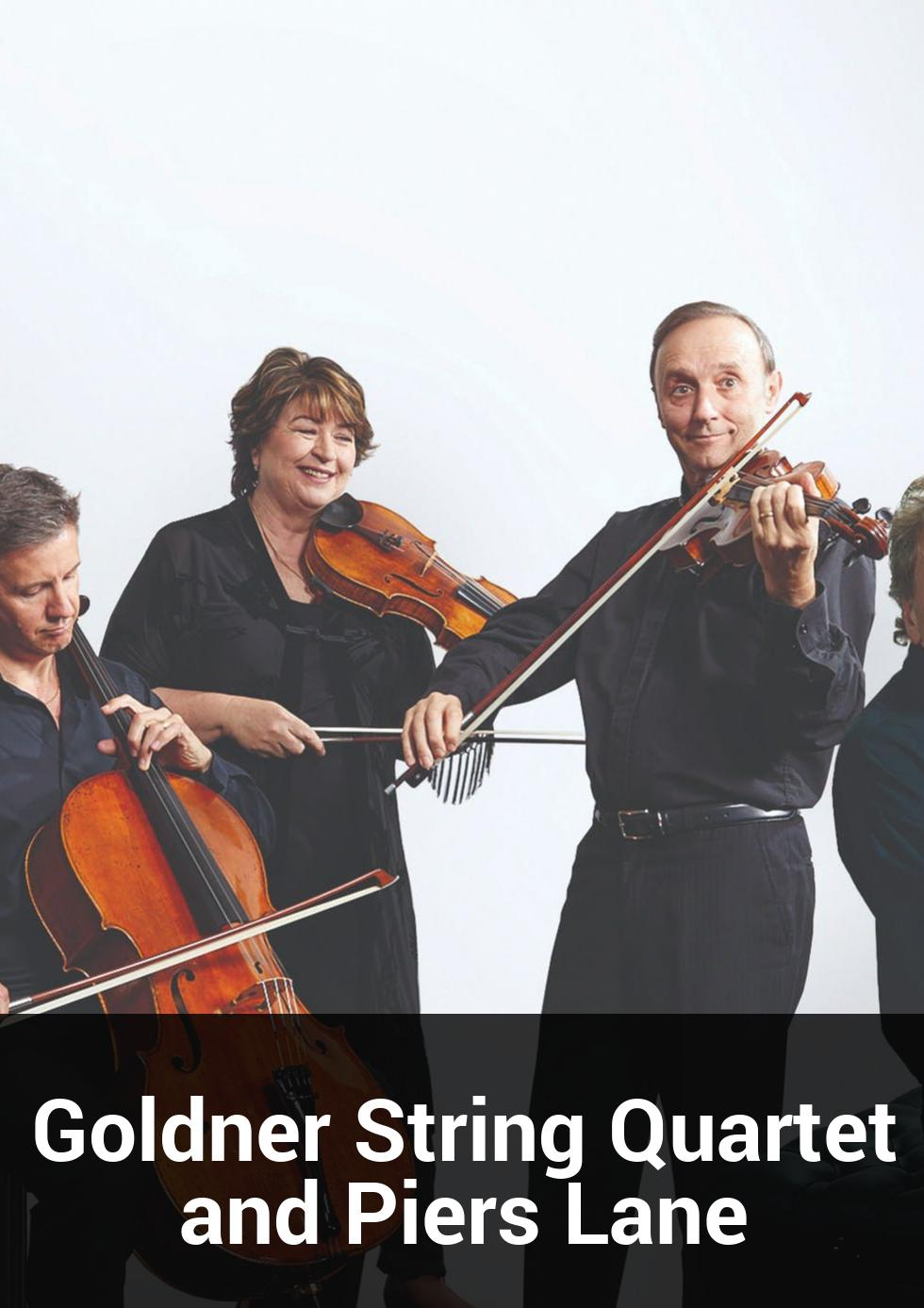 Goldner String Quartet and Piers Lane at Queensland Conservatorium Griffith University