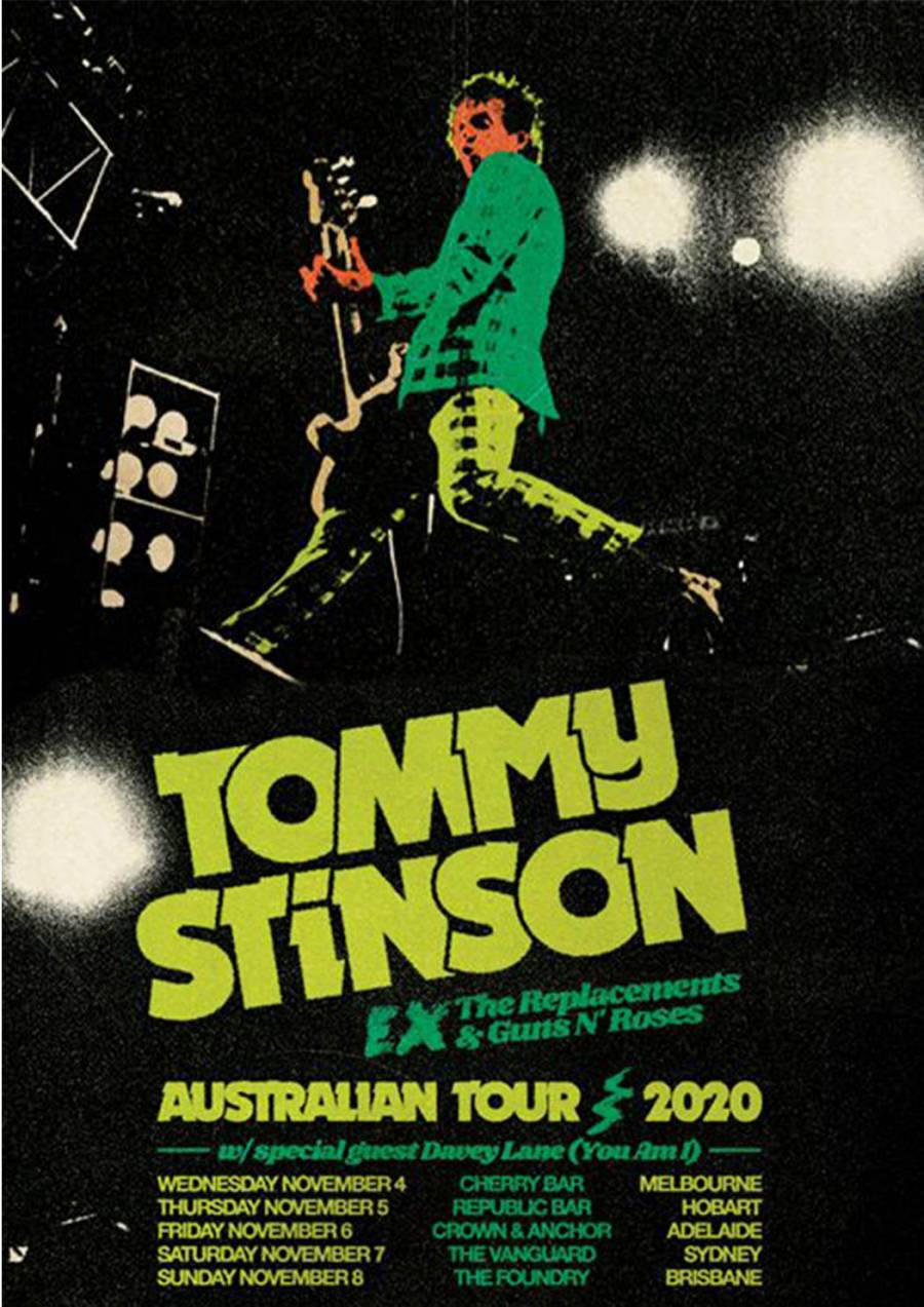 Tommy Stinson (The Replacements) at The Republic Bar Hobart