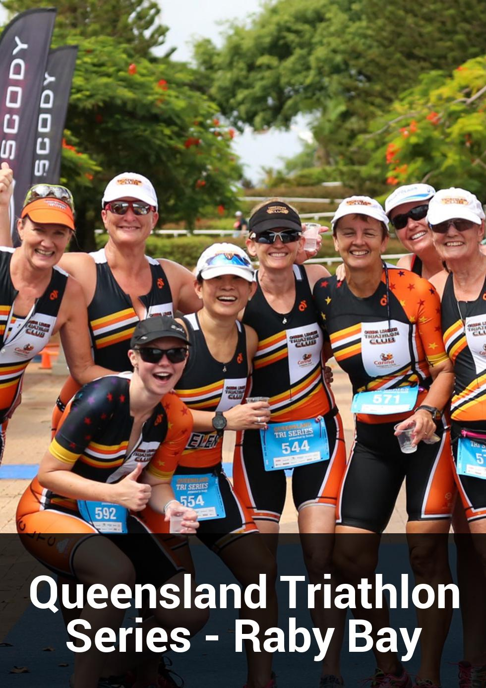 Queensland Triathlon Series - Raby Bay at Raby Bay Harbour Park