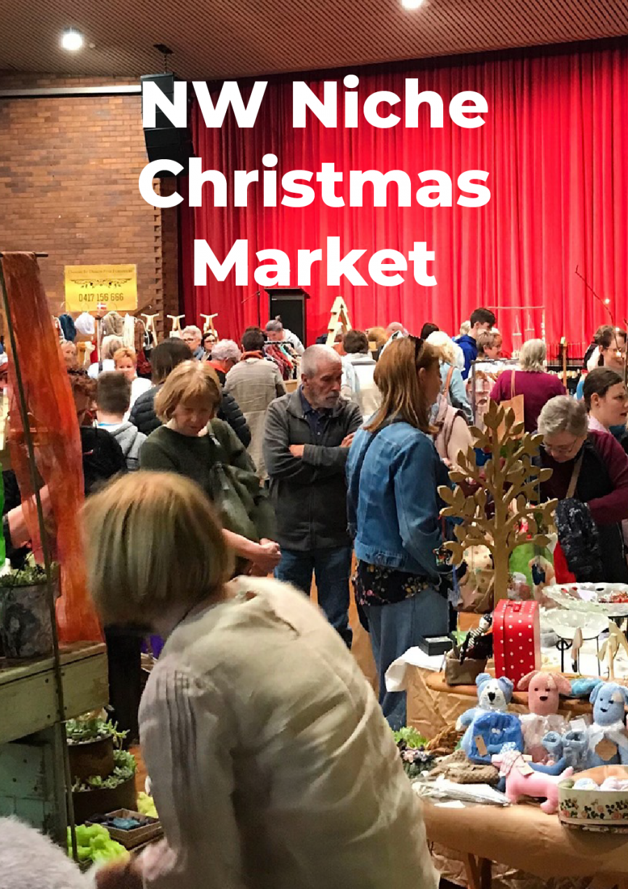 NW Niche Christmas Market at Burnie Arts and Function Centre