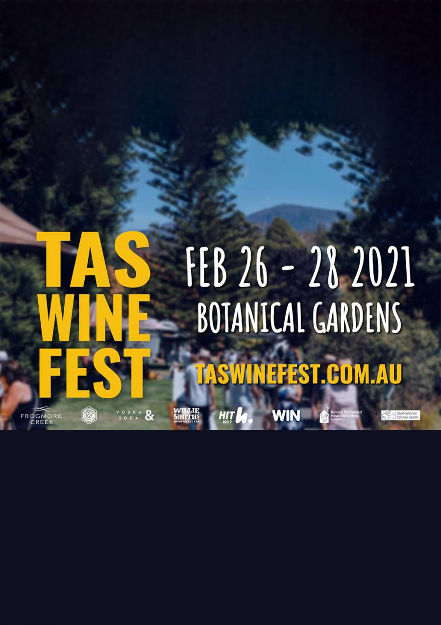 Tasmanian Wine Festival 2021 at Royal Tasmanian Botanical Gardens