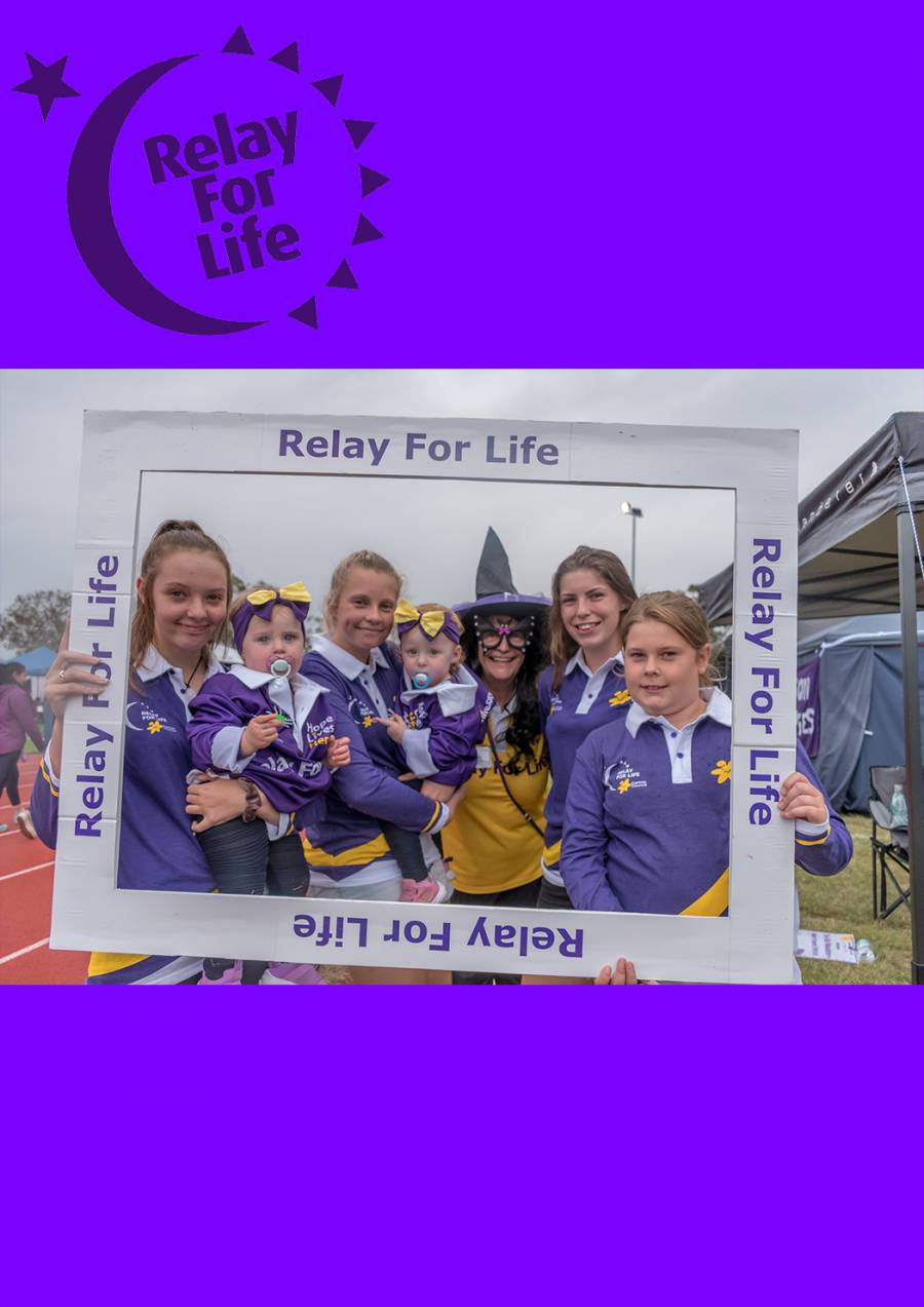 Hobart Relay For Life 2021 at Domain Athletic Centre