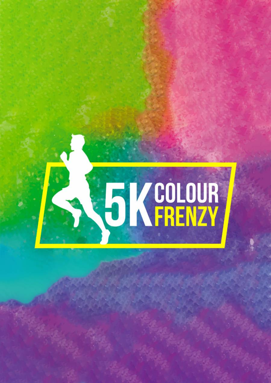 Hobart 5k Colour Frenzy at Soldiers Memorial Oval
