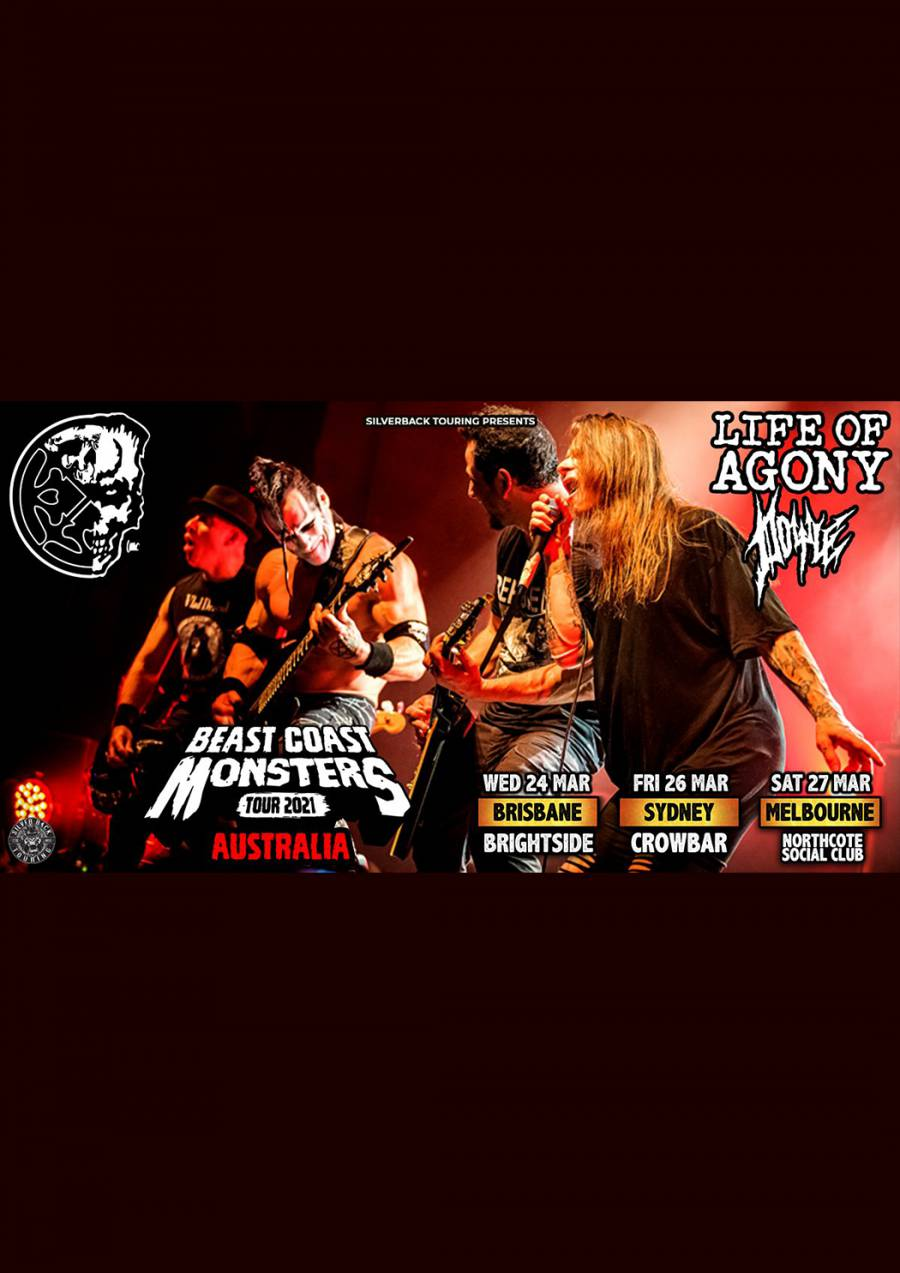 Life of Agony with Doyle - Australian Tour at Crowbar Sydney